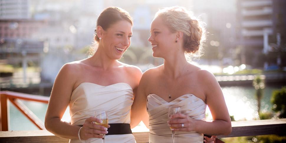 Wedding photographer at The Boatshed