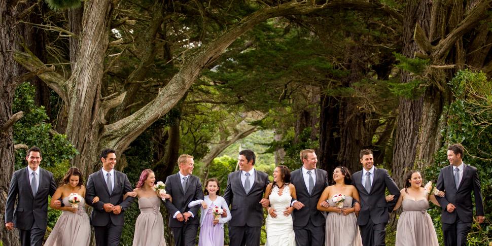 Wedding photographer at Wairarapa