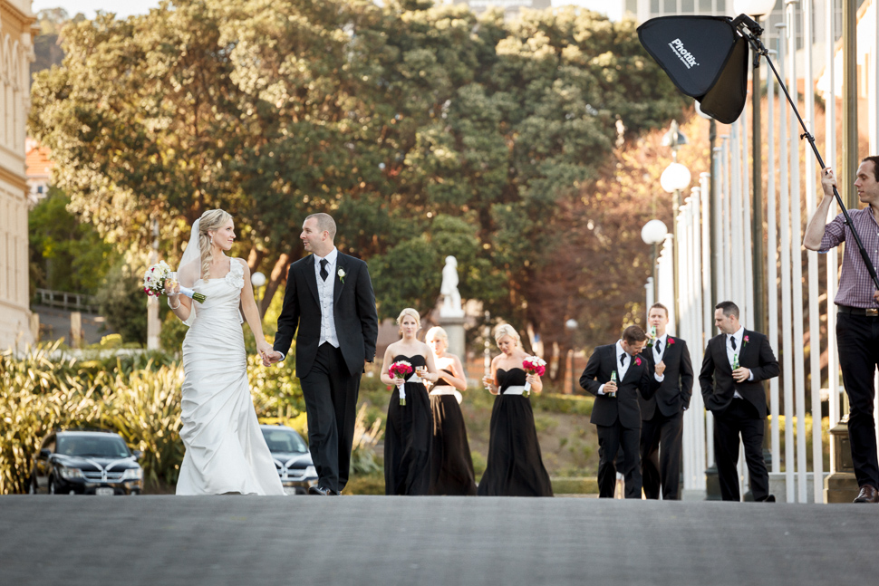 Choosing a lighting assistant on your wedding day for Wedding photographer assistant