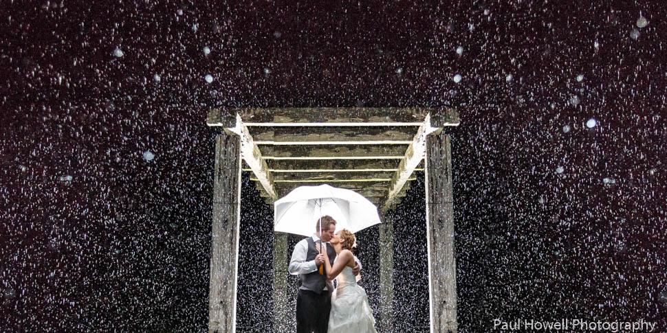 Ohariu Farm Wedding - Wedding Photography in the rain